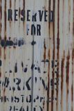 Rusty Corrugated Metal Grunge Texture Background Royalty Free Stock Images