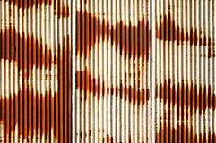 Rusty Corrugated Metal Sheet Stock Images