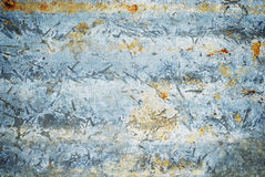 Rusty corrugated metal texture. Background Royalty Free Stock Photo