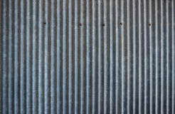 Rusty corrugated metal texture. Royalty Free Stock Image