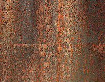 Rusty corten steel background Royalty Free Stock Image