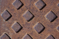 Rusty cover Stock Image