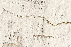Rusty cracked concrete vintage wall background Royalty Free Stock Photography