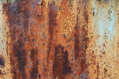 Rusty And Cracked Metal Stock Photography
