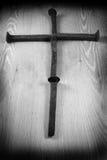 Rusty Crucifix Royaltyfria Foton