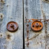 Rusty Details Fotografia de Stock Royalty Free
