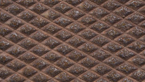Rusty diamond pattern Stock Images