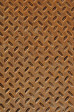 Rusty Diamond Plate Stock Photo