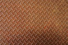 Rusty Diamond Plate Texture Imagen de archivo