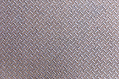 Rusty Diamond steel metal plate Stock Photo