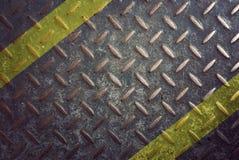 Rusty diamond steel plate background Stock Photography