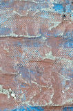 Rusty dirty old blue fabric Royalty Free Stock Photography