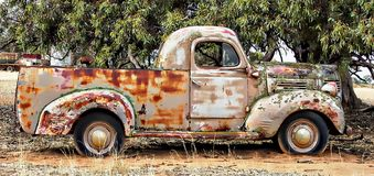 Rusty Dodge Royaltyfri Bild