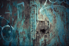 Rusty door Royalty Free Stock Photo