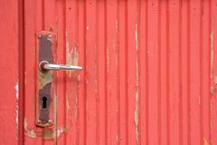 Rusty door handle Stock Photography