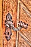 Rusty Door Handle Frydlant Royalty-vrije Stock Fotografie