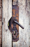 Rusty door knob Royalty Free Stock Image