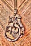 Rusty Door Knocker Frydlant Stock Fotografie