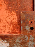 Rusty door Stock Images