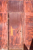 Rusty doorway Stock Photography