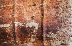 Rusty Drum Background Arkivfoton