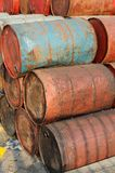 Rusty drums Royalty Free Stock Photography