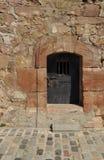 rusty drzwi obraz stock