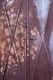 rusty drzwi Obraz Royalty Free
