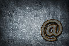 Rusty email Stock Photos