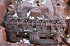 Rusty Engine. This was taken in a Fort Worth Park Royalty Free Stock Image