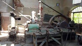 Abandoned old marble quarry factory in Marmara island, Balikesir, Turkey