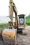 Rusty Excavator Royalty Free Stock Images