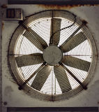 Rusty fan Stock Photo