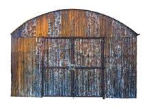 Rusty Farm Building aislado Imagenes de archivo