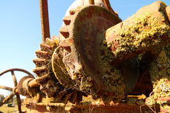 Rusty farm equipment Royalty Free Stock Photos