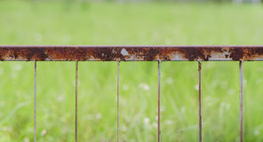 Rusty fence Royalty Free Stock Photography