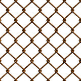 Rusty fence (Seamless texture) Royalty Free Stock Photography