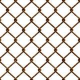 Rusty fence (Seamless texture) stock illustration