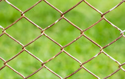 Rusty Fence Wire Royalty Free Stock Images
