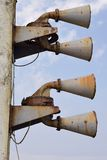 Rusty foghorn Stock Photography