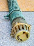 Rusty foot valve Stock Photography