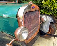 Rusty Ford Front Royalty Free Stock Photo