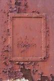 Rusty frame Stock Photo