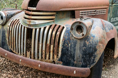 Old truck rusting away Stock Image