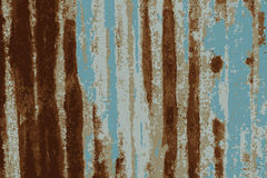 Rusty galvanized iron plate.tracing vector Royalty Free Stock Photo