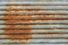 Rusty galvanized iron Stock Photos