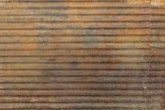 Rusty galvanized iron Stock Photo