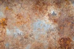 Rusty galvanized iron Royalty Free Stock Images