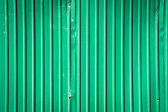Rusty galvanized steel for texture green background. Royalty Free Stock Images