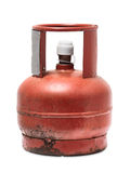 Rusty gas bottle Royalty Free Stock Photo